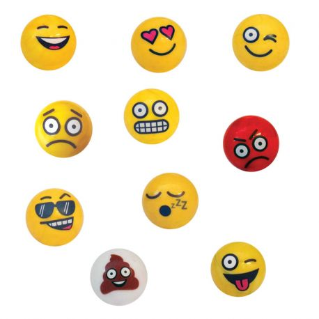 Pack calots Emoji 25mm