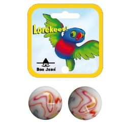 2 boulards Lorekeet 42mm